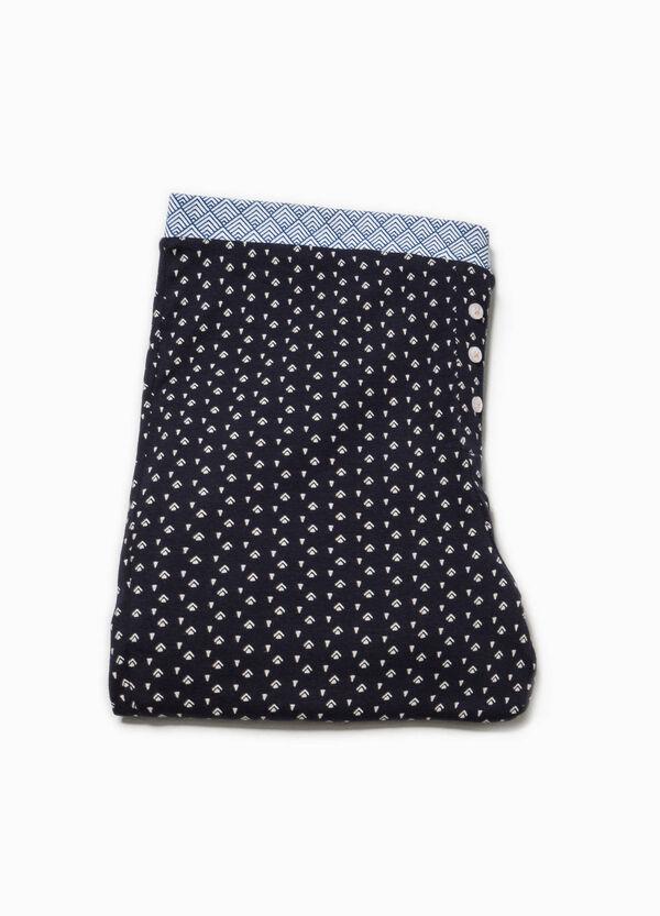 Pantalón de pijama de algodón con estampado | OVS