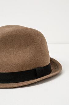 Cappello lana con fascia, Cammello, hi-res