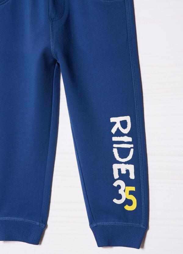 Pantaloni tuta con stampa | OVS