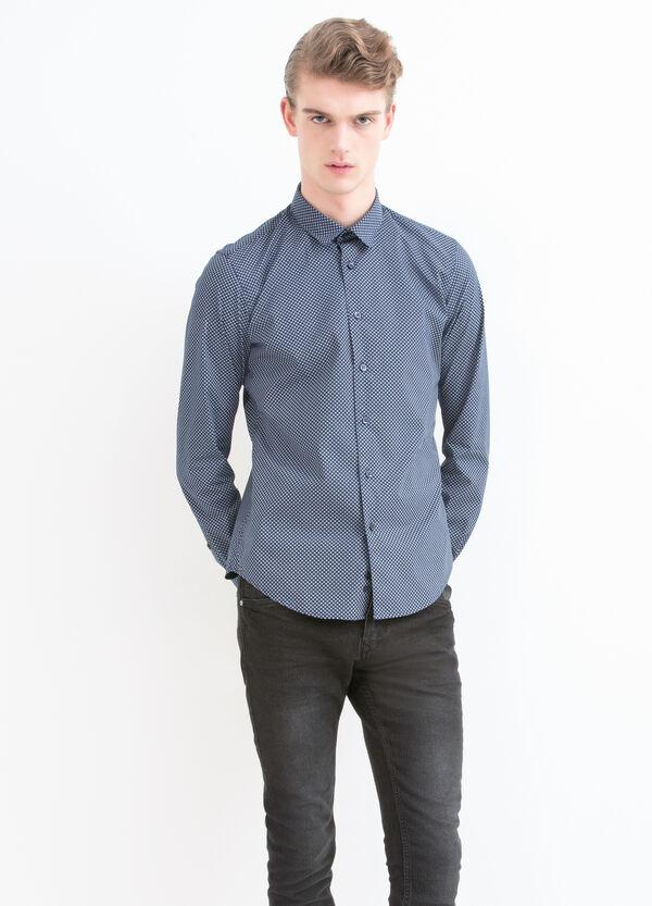 Camicia stampa misto cotone | OVS