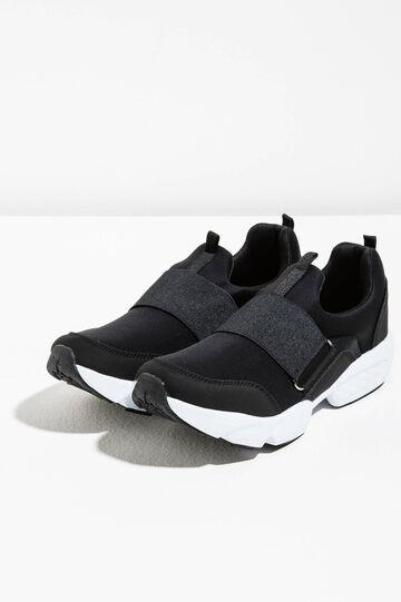 Neoprene sneakers with elastic band