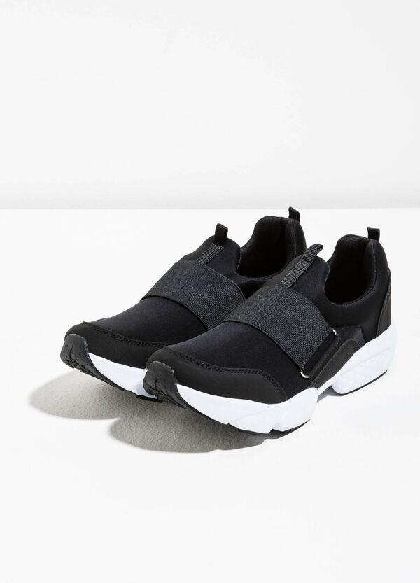 Neoprene sneakers with elastic band | OVS