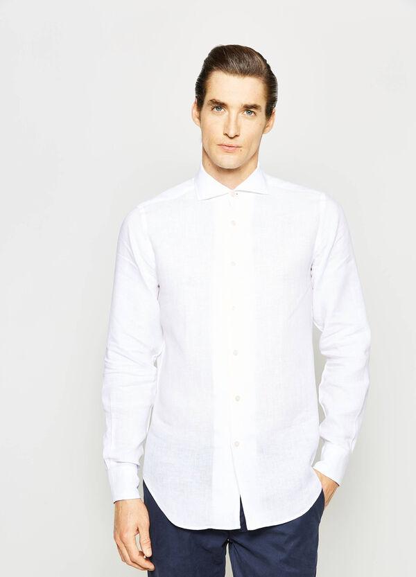 Camisa Rumford en lino 100% | OVS