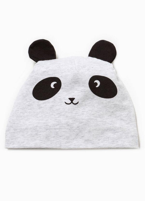 Cappello a cuffia con orecchie e stampa | OVS