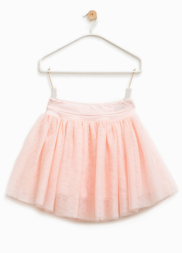 Tulle skirt with Ballerina patch | OVS