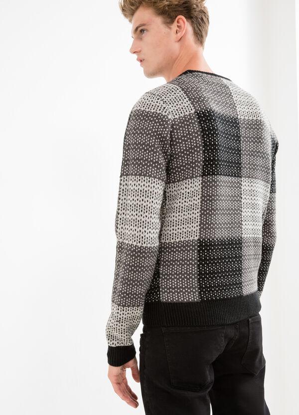 Jacquard patterned pullover | OVS