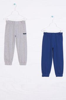Camicia con stampa, Blu navy, hi-res