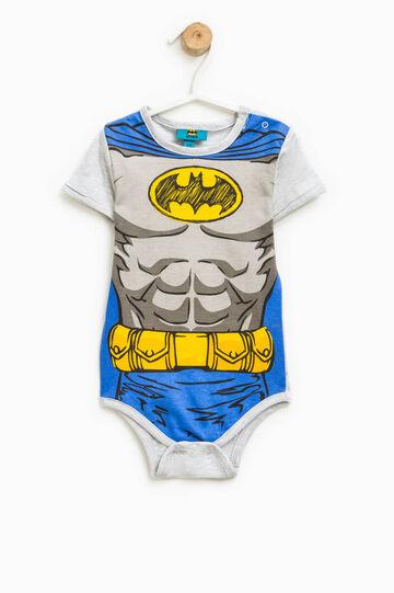 Maxi Batman print bodysuit, Grey, hi-res