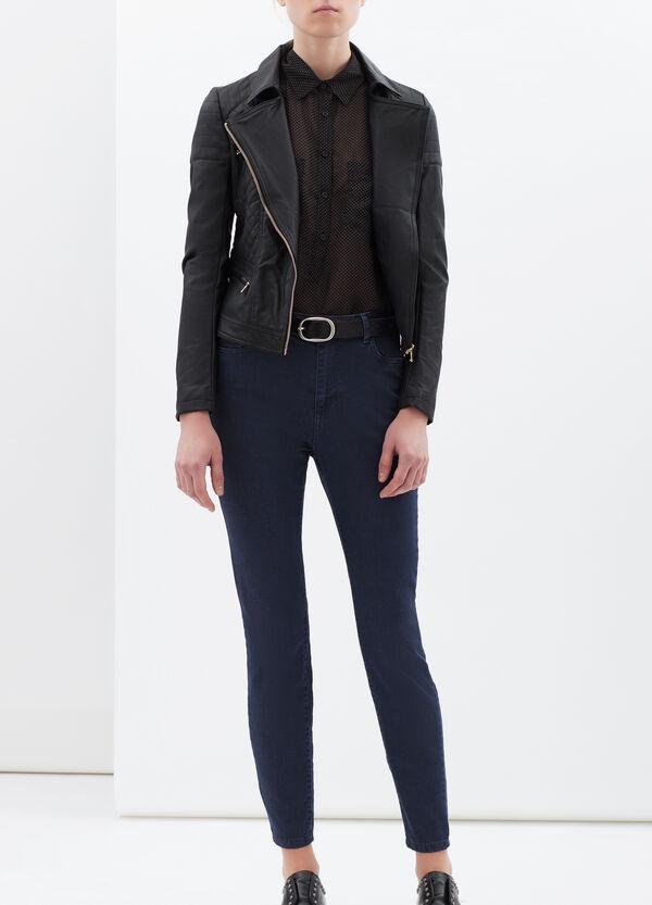 Jeans stretch tinta unita   OVS