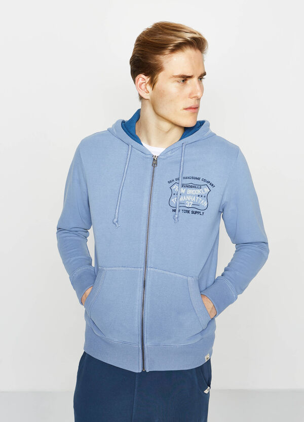 G&H sweatshirt with lettering print on chest | OVS