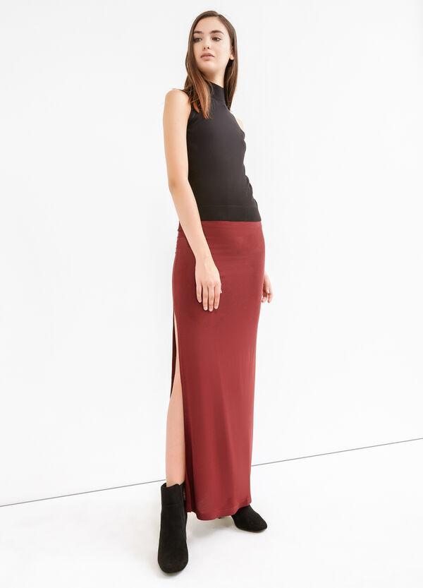 Falda larga con aberturas | OVS