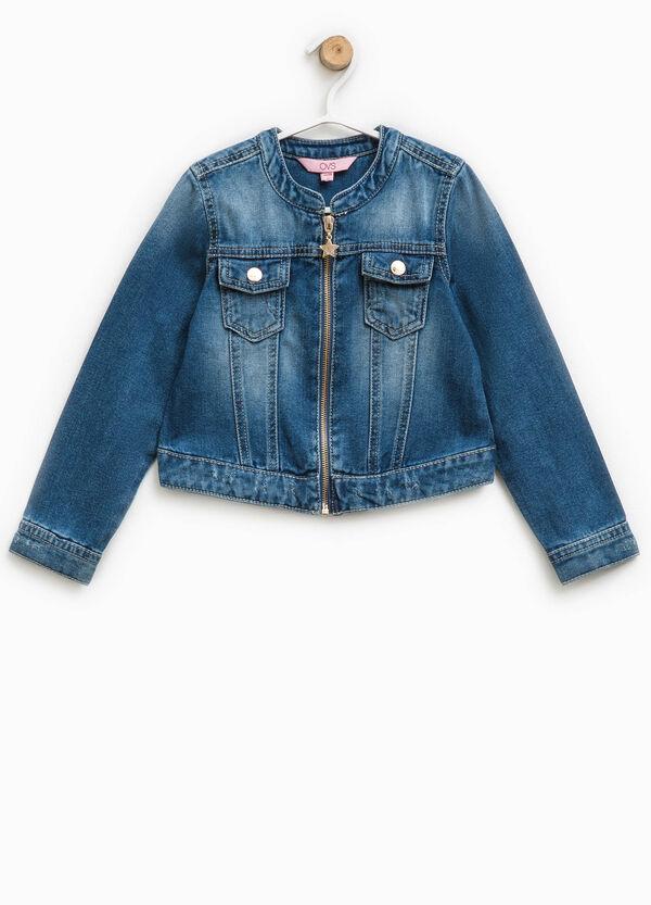 Denim jacket with pockets | OVS