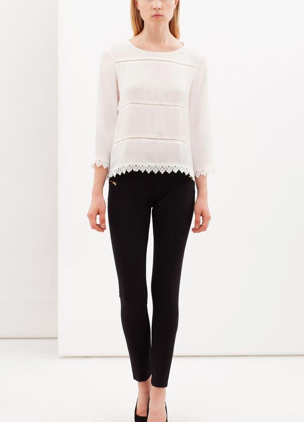 Plain stretch leggings | OVS