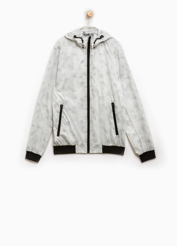 Windbreaker with geometric print | OVS