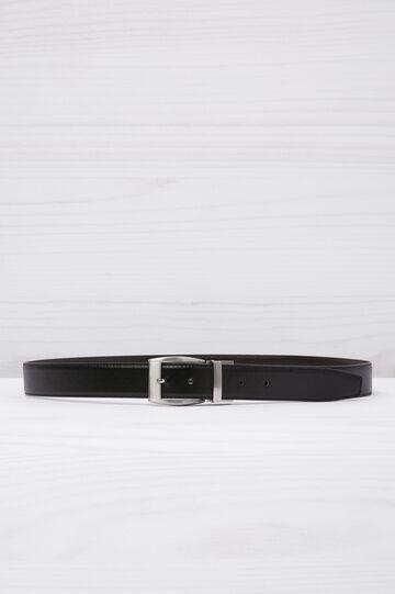 Cintura similpelle reversibile, Nero, hi-res
