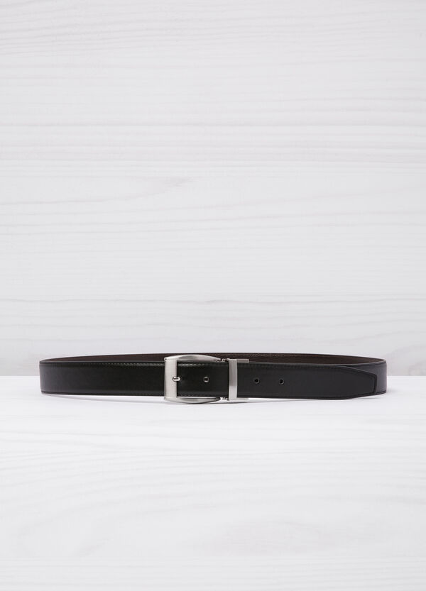 Reversible leather look belt | OVS