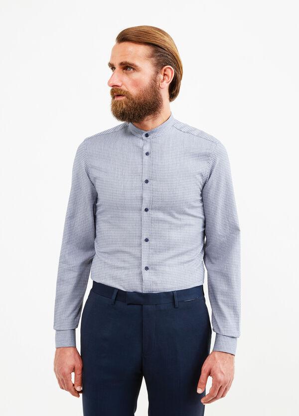 Custom-fit patterned formal shirt | OVS