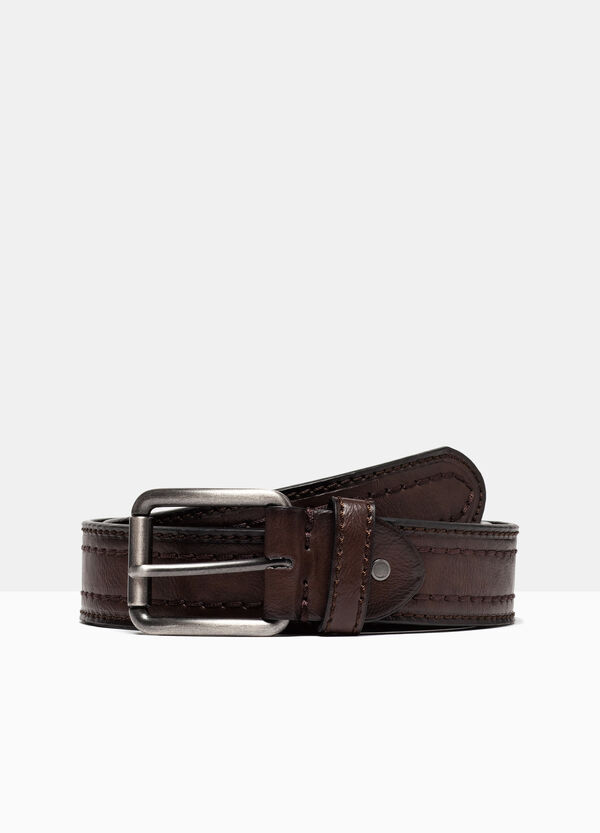 Belt with matt buckle | OVS