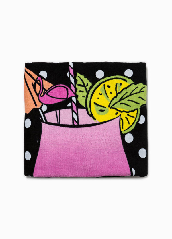 Beach towel with all-over print | OVS