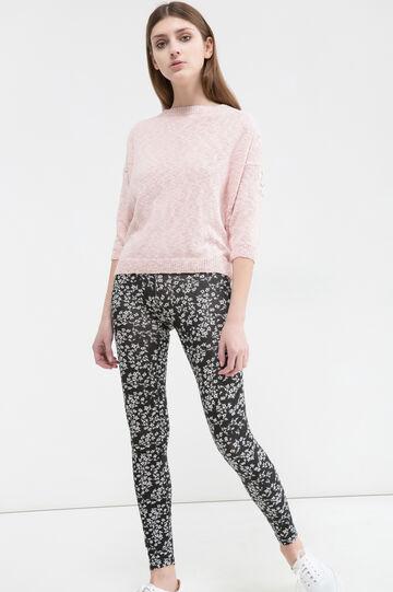 Stretch floral leggings