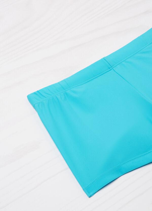 Plain stretch swim boxer shorts | OVS