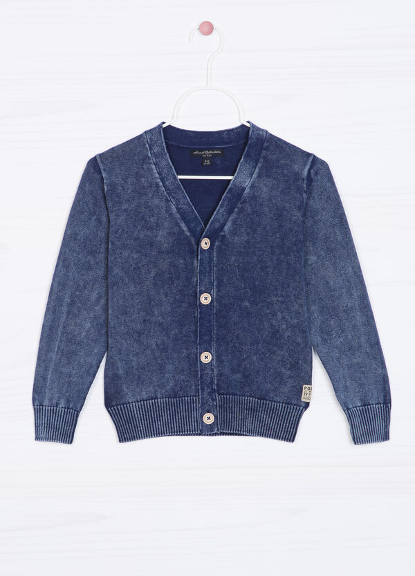 Cardigan puro cotone tricot | OVS