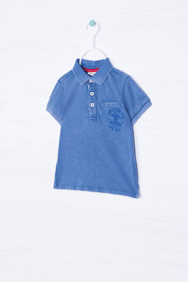 Printed polo shirt in 100% cotton   OVS