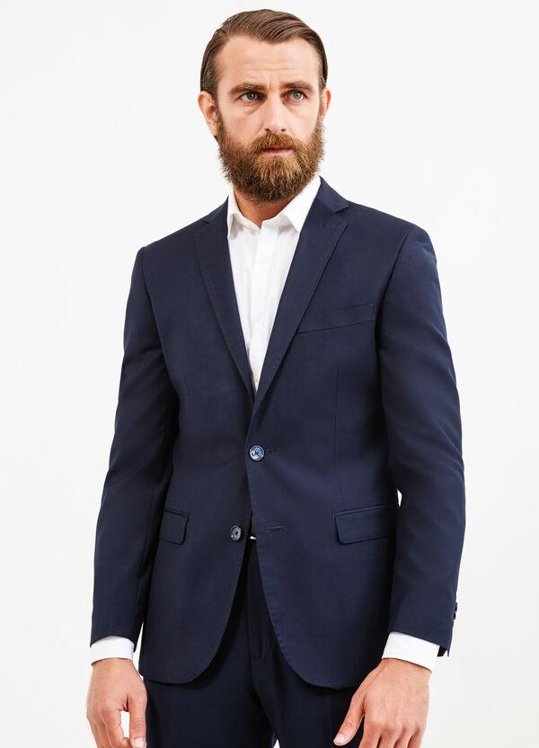 Regular-fit viscose blend jacket | OVS