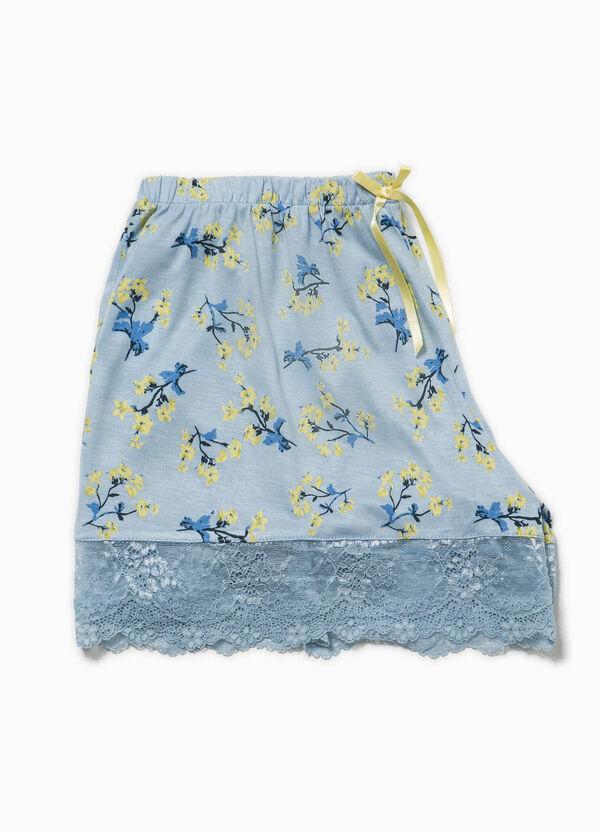 Shorts de pijama con flores y encaje | OVS