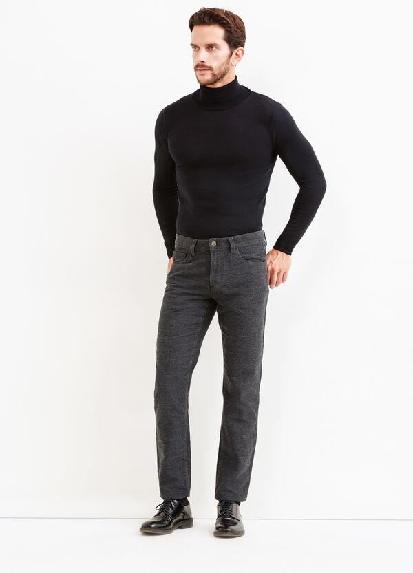 Pantalón regular fit con 5 bolsillos   OVS