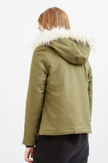 Hooded jacket, Army Green, hi-res