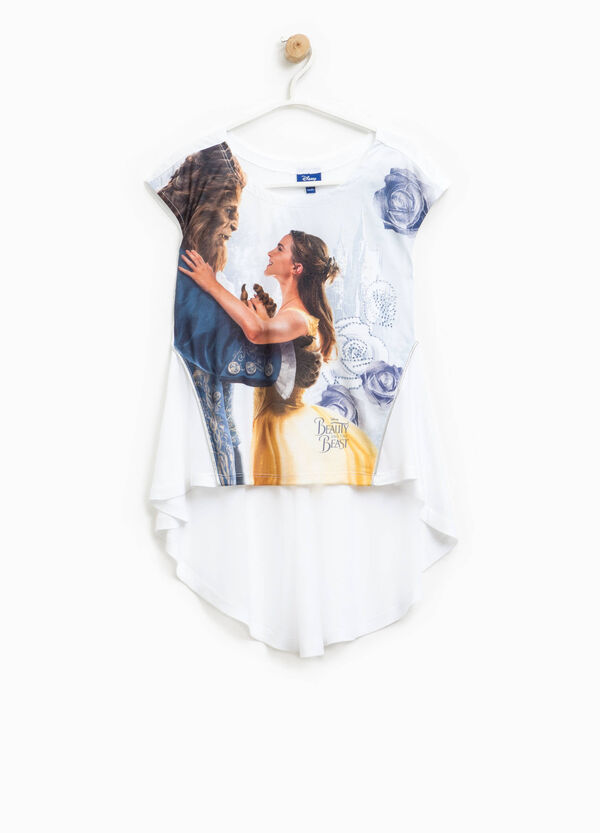 Beauty and the Beast maxi print T-shirt | OVS