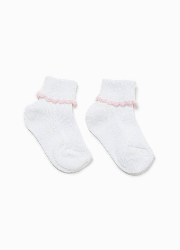 Short socks with fold | OVS
