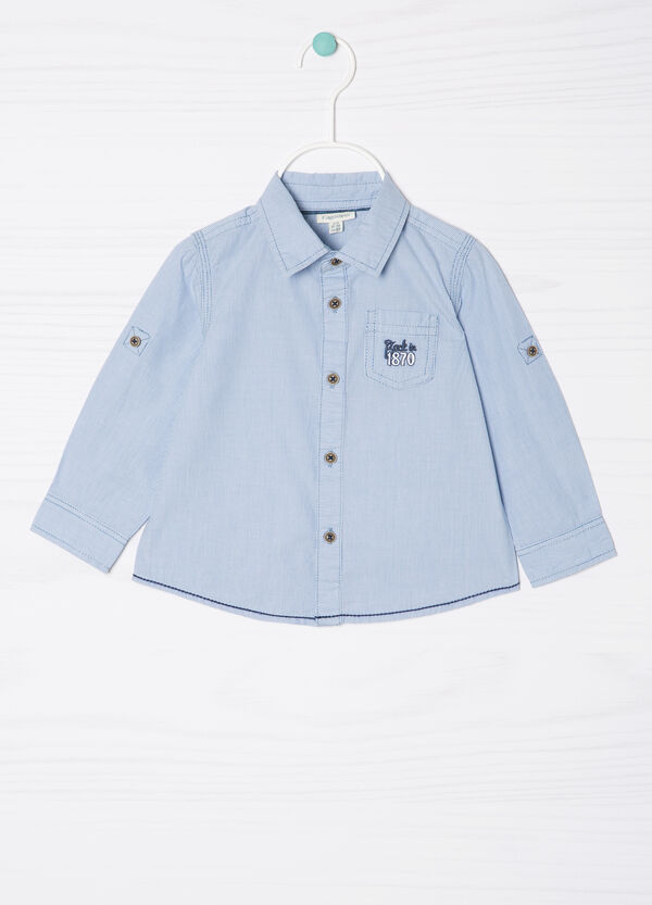 10% cotton striped shirt | OVS