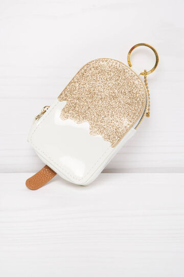 Two-tone purse, White, hi-res