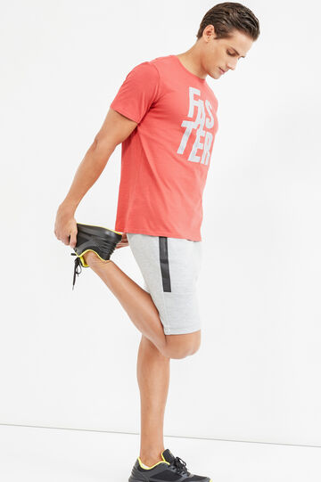 T-shirt OVS Active Sport Training, Rosso, hi-res