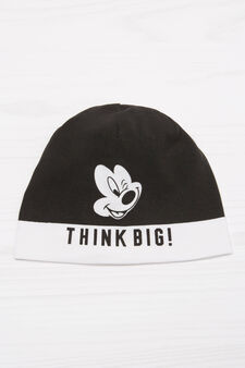 Mickey Mouse beanie cap, Black, hi-res