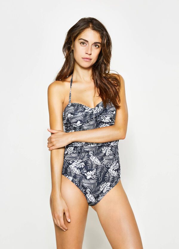 One-piece strapless swimsuit | OVS