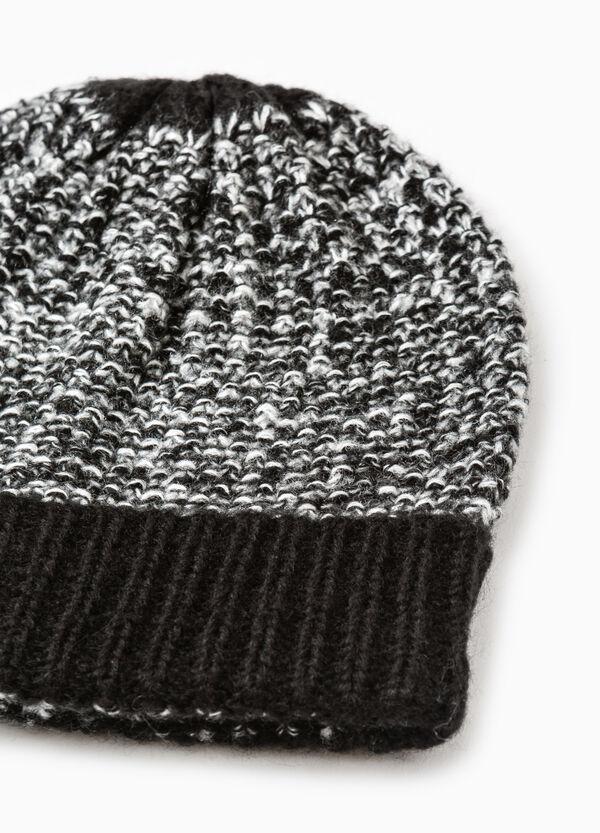 Cappello a cuffia mélange tricot | OVS