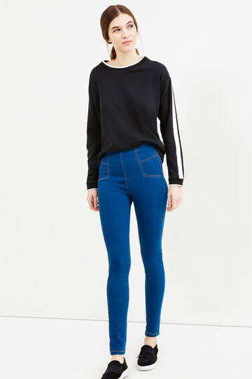 Jeans super skinny fit stretch, Blu, hi-res
