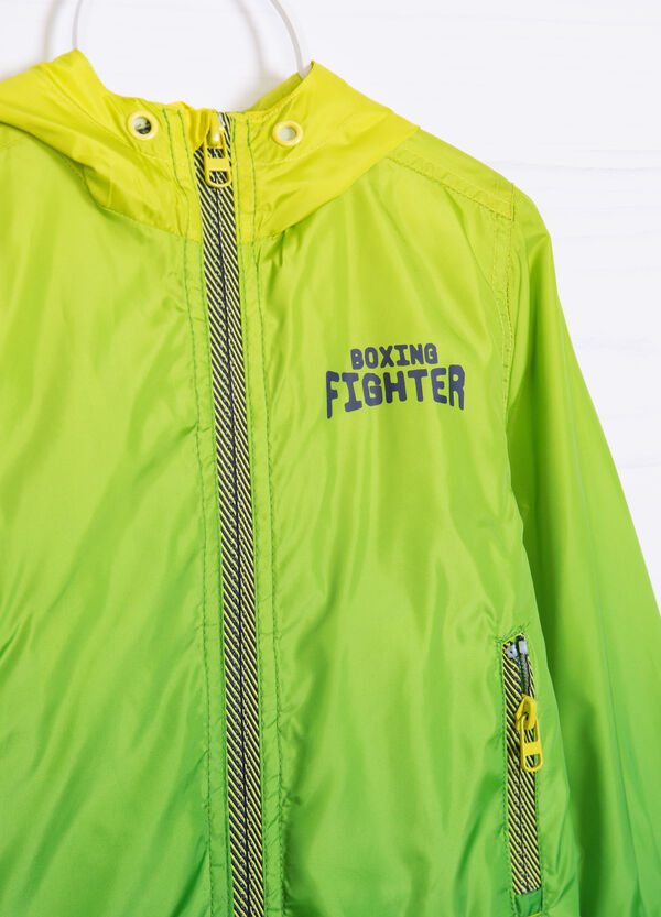 Windbreaker with printed lettering | OVS