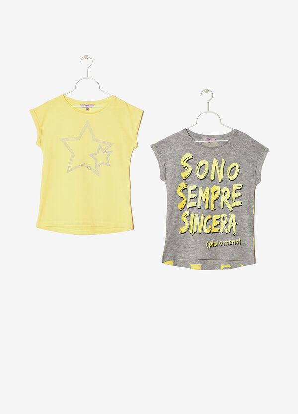 Set due t-shirt cotone | OVS