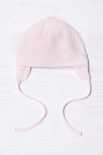 Cappellino a cuffia con paraorecchie, Rosa, hi-res