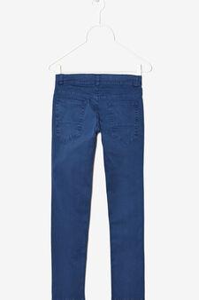 Five-pocket trousers, Deep Blue, hi-res