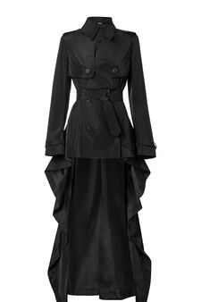 Trench, Jean Paul Gaultier for OVS, Black, hi-res