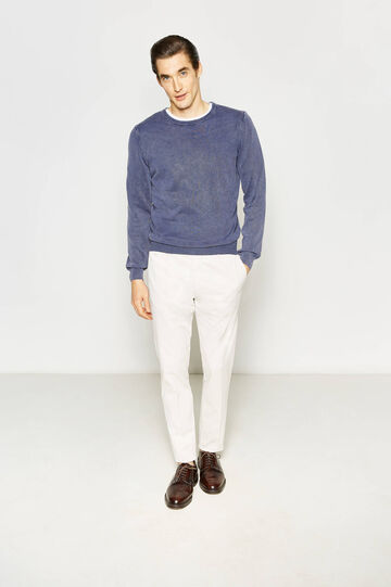 Stretch cotton Rumford trousers