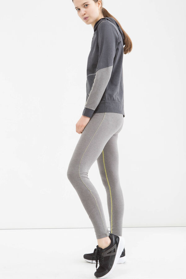 Stretch cotton gym leggings | OVS