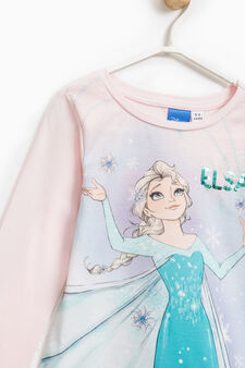 T-shirt with maxi Frozen print, Light Pink, hi-res