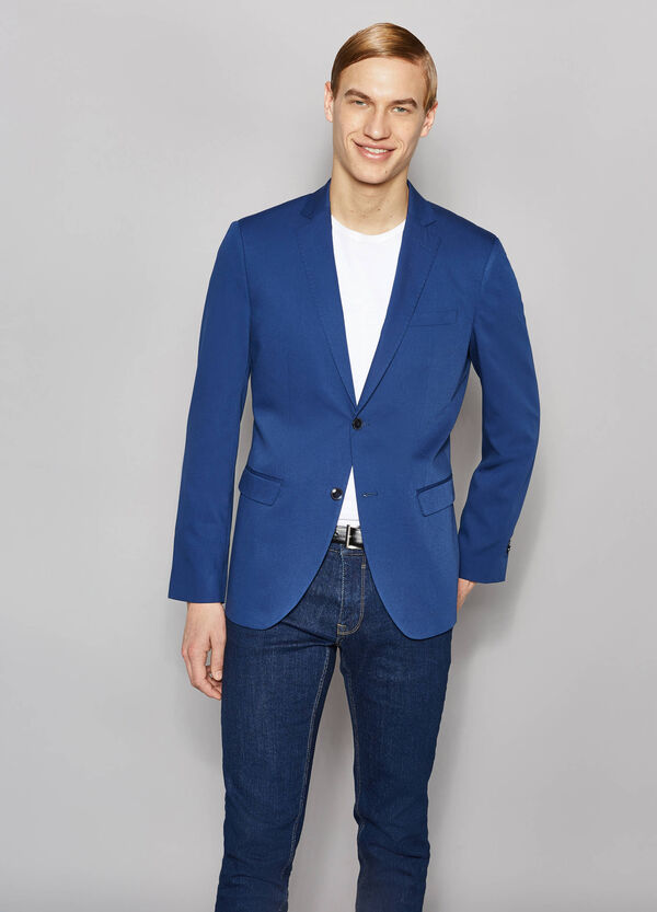Elegant slim-fit two-button jacket | OVS
