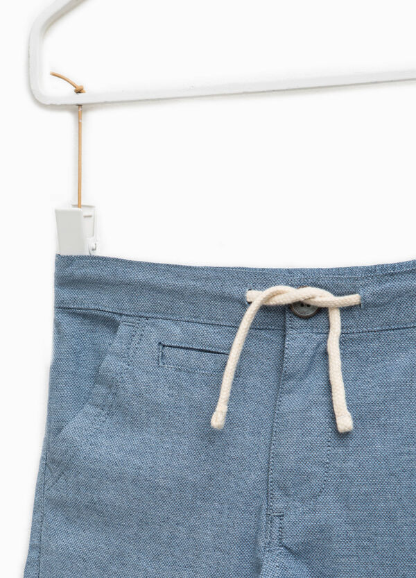 Chino trousers with drawstring and pocket | OVS
